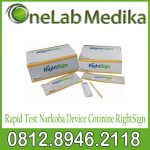 Rapid Test Narkoba Device Cotinine RightSign