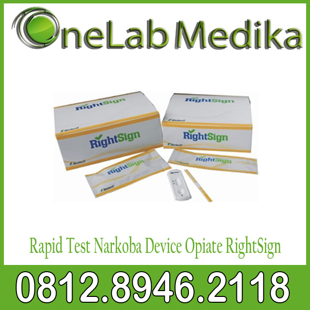 Rapid Test Narkoba Device Opiate RightSign
