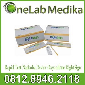 Rapid Test Narkoba Device Oxycodone RightSign