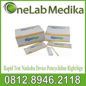 Rapid Test Narkoba Device Pencyclidine RightSign