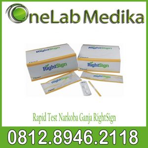 Rapid Test Narkoba Ganja RightSign
