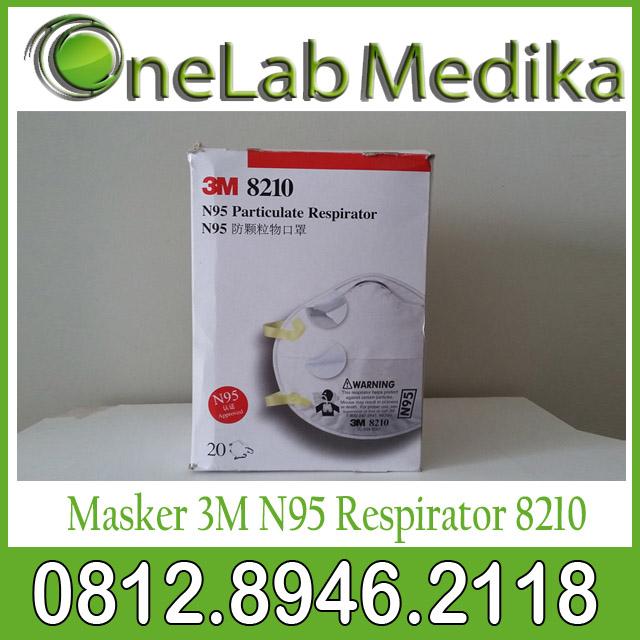Masker 3M N95 Respirator 8210