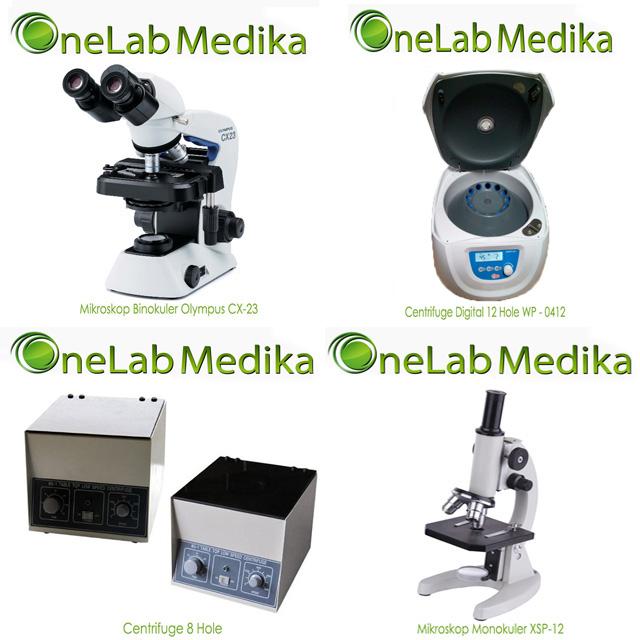 Mikroskop dan centrifuge murah