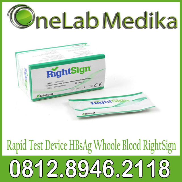 Rapid Test Device HBsAg Whoole Blood RightSign