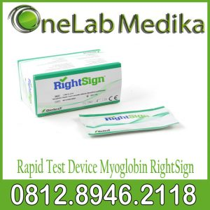 Rapid Test Device Myoglobin RightSign