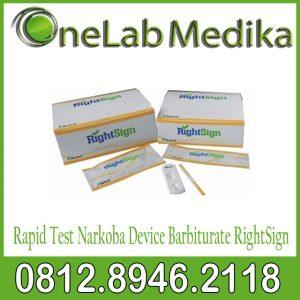 Rapid Test Narkoba Device Barbiturate RightSign