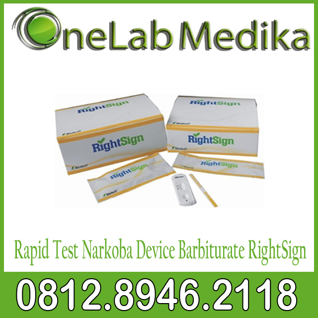 Rapid Test Narkoba Device Barbiturate RightSign