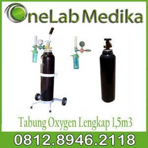 Tabung Oxygen Lengkap 1,5m3