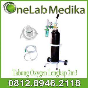 Tabung Oxygen Lengkap 2m3