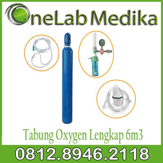 Tabung Oxygen Lengkap 6m3