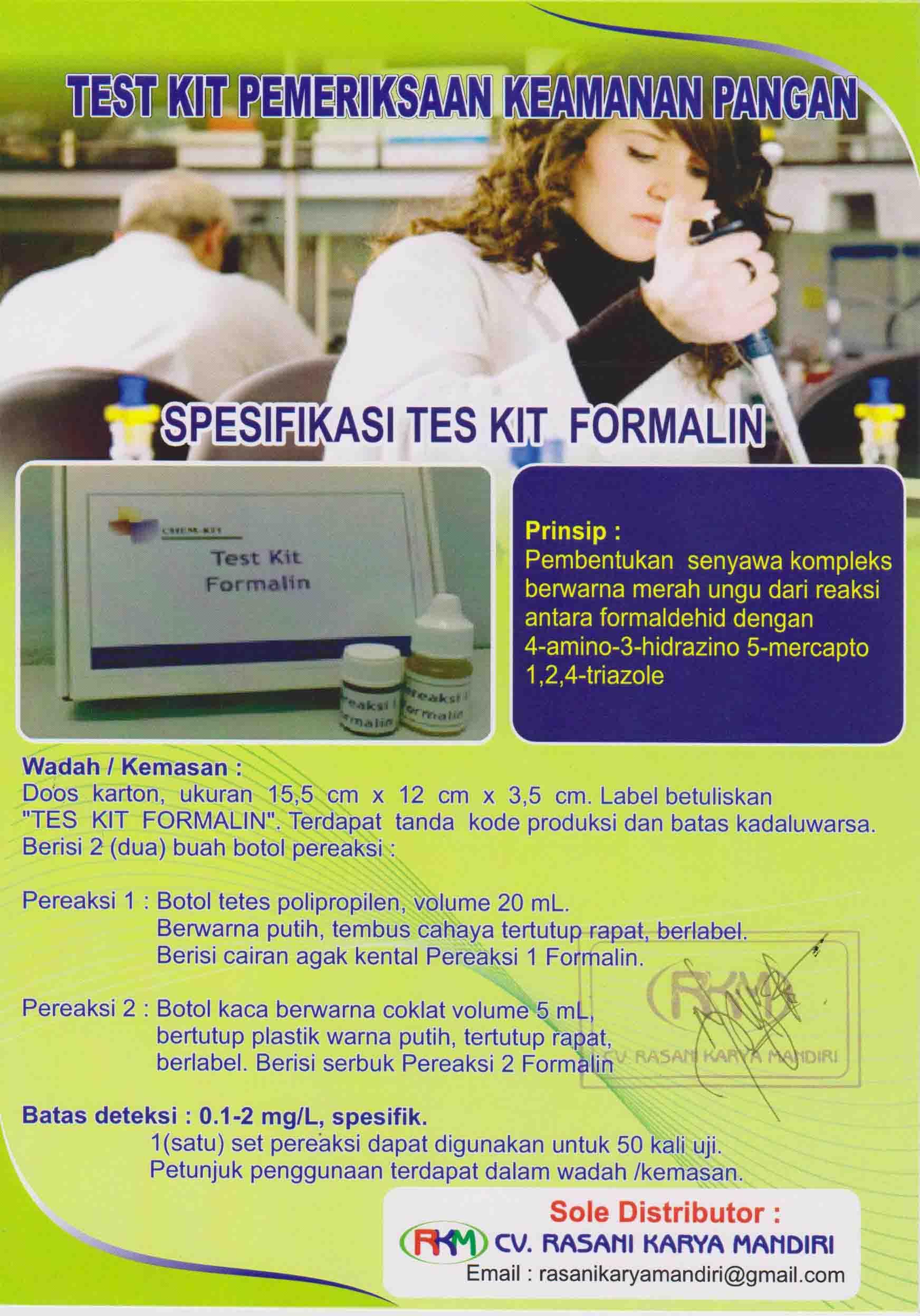 Formalin Chemkit