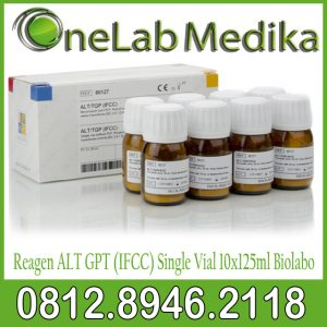 Reagen ALT GPT (IFCC) Single Vial 10x125ml Biolabo
