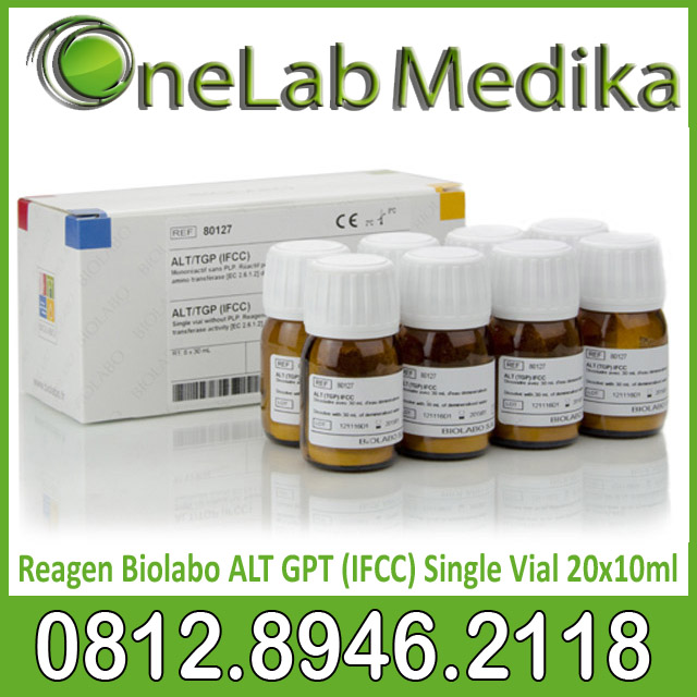 Reagen Biolabo ALT GPT (IFCC) Single Vial 20x10ml