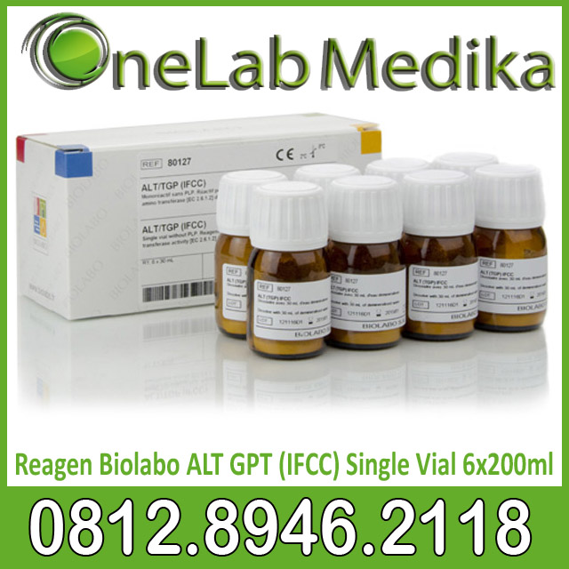 Reagen Biolabo ALT GPT (IFCC) Single Vial 6x200ml