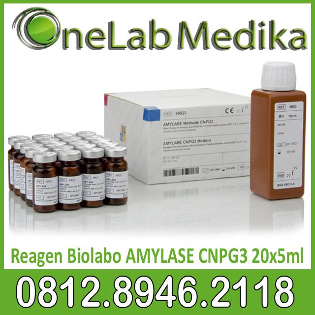 Reagen Biolabo AMYLASE CNPG3 20x5ml