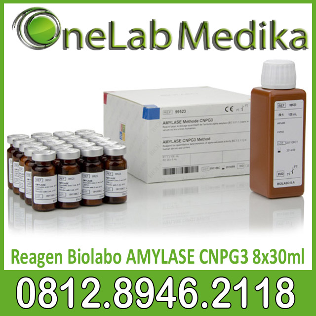 Reagen Biolabo AMYLASE CNPG3 8x30ml