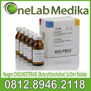 Reagen Biolabo CHOLINESTERASE (Butyrylthiocholine) 5x10ml
