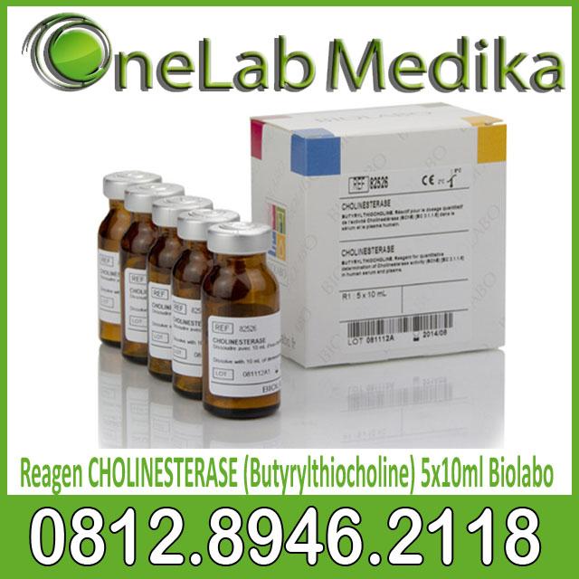 Reagen CHOLINESTERASE (Butyrylthiocholine) 5x10ml Biolabo