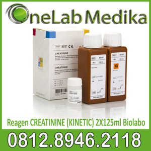 Reagen CREATININE (KINETIC) 2X125ml Biolabo