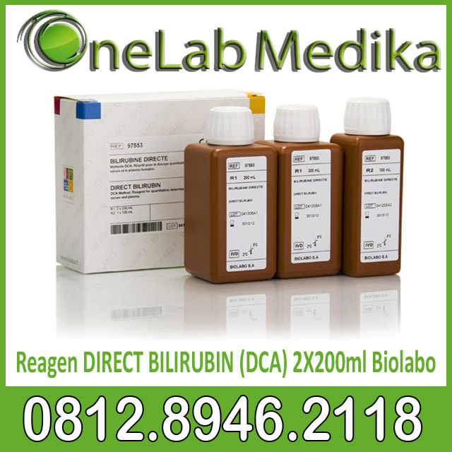 Reagen DIRECT BILIRUBIN (DCA) 2X200ml Biolabo