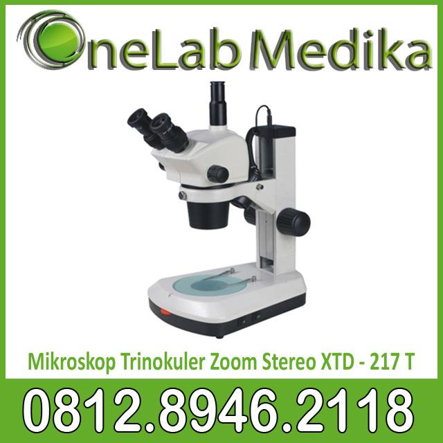 Mikroskop Trinokuler Zoom Stereo XTD - 217 T