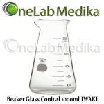 Jual Beaker Glass Conical 1000ml IWAKI
