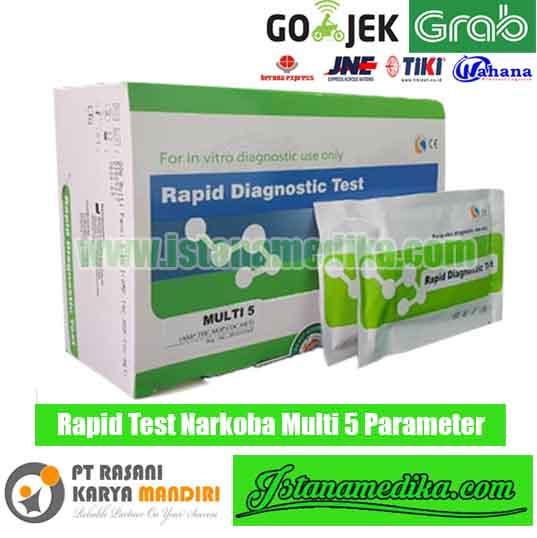 Rapid Test Narkoba Multi 5 Parameter